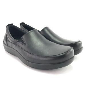Klogs Women's Ashbury Black Leather Clogs Size 11